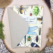 Load image into Gallery viewer, Insect Greeting Card