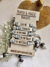 Load image into Gallery viewer, GIVE ME Prayer & Praise Bracelets: