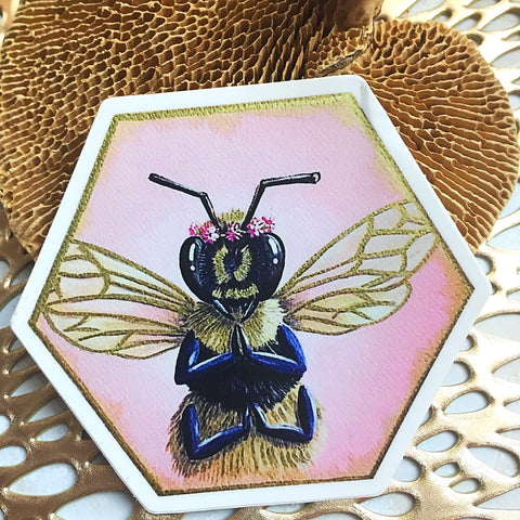 Bee Thankful Sticker