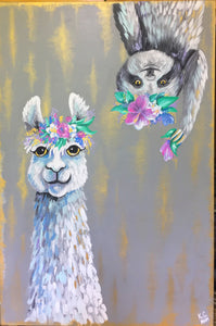Sloth & Lama Spirit- K. Courtney