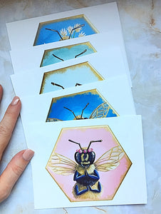 Bee Greeting Cards - 10 pack