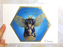 Load image into Gallery viewer, Honey Love Bee Print