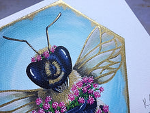 Load image into Gallery viewer, Love of Red Clover Bee Print