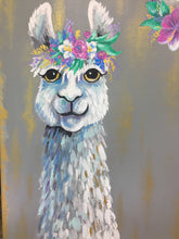 Load image into Gallery viewer, Sloth & Lama Spirit- K. Courtney