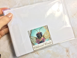 Bee Thankful - White Clover Print