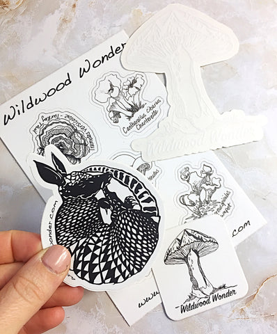 Wildwood Sticker Pack