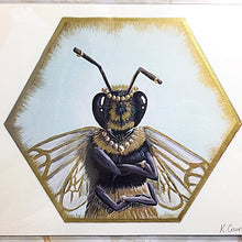 Load image into Gallery viewer, Queen Bee Print