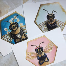 Load image into Gallery viewer, Bee Postcards