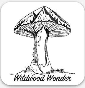 Wildwood Wonder Logo Sticker