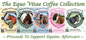 Private Labeling Coffee Program Helps Support Equine Aftercare of Retired Race Horses and Show Horses!