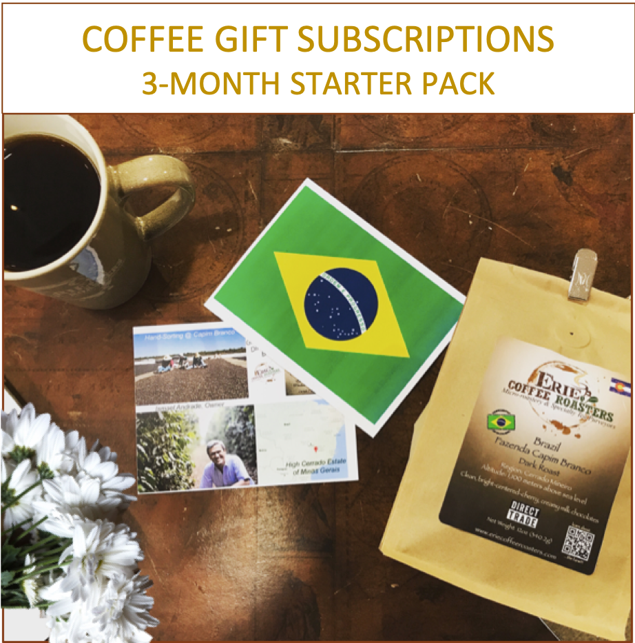 3 Month Coffee Club Gift Subscription