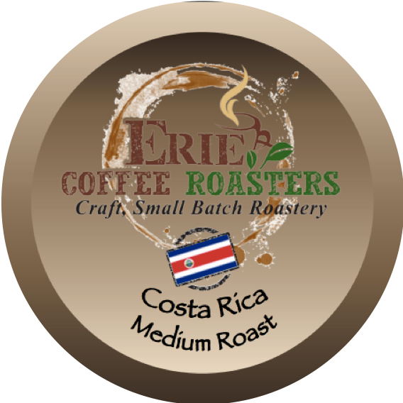 K-Cup®-Style Single-Serve Pods: Costa Rica Medium Roast 100% Recyclable Cups