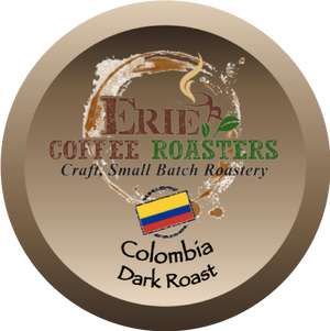 K-Cup®-Style Single-Serve Pods: Colombia Dark Roast in 100% Recyclable Cups!