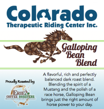 Colorado Therapeutic Riding Center's Galloping Bean Blend!