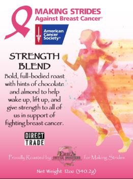 Making Strides Against Breast Cancer Coffee Blend