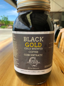 Black Gold~Cold Brew Concentrate 30oz Glass Jar