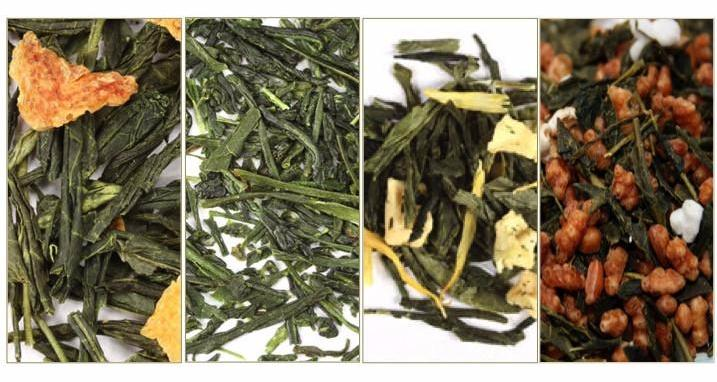 Green Tea Sample Pack: Great for Hot or Iced!