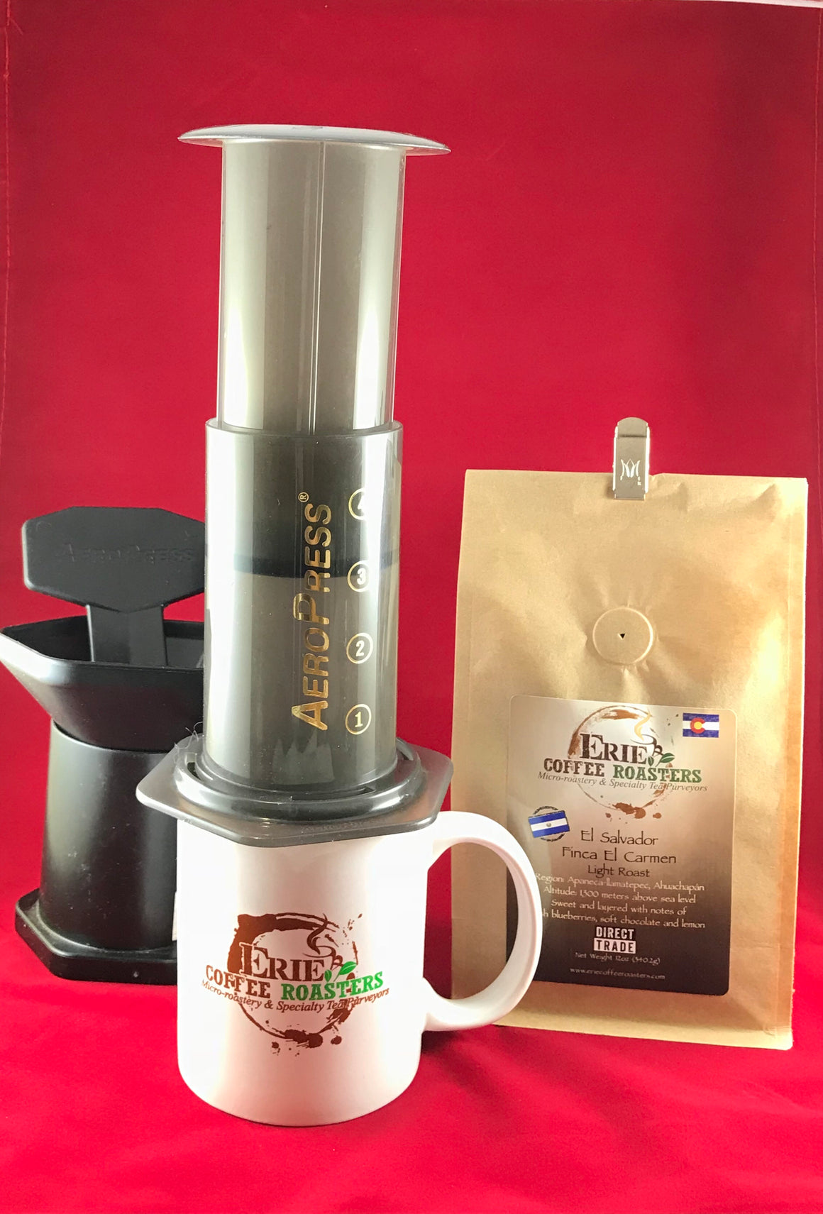 Aerobie AeroPress Coffee Maker + Coffee