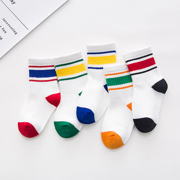 The Soulful Stripe 5 Pack (Ages 0-12)
