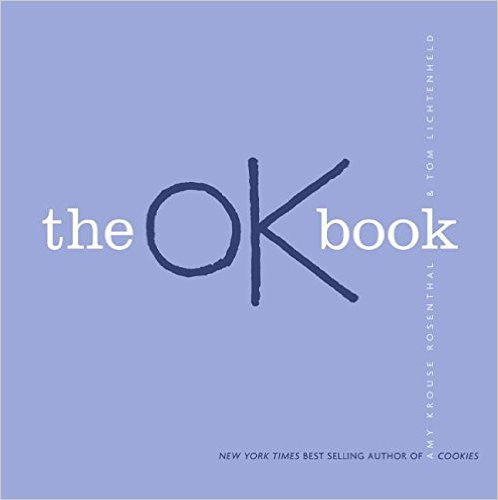 The OK Book by Amy Rosenthal - Its OK to be Ok - a great Resiliency Resource