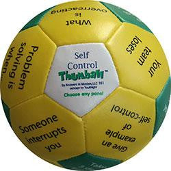 "Self Control Thumball (4"") for Exploring and Implementing Various Self-Regulation Practices"