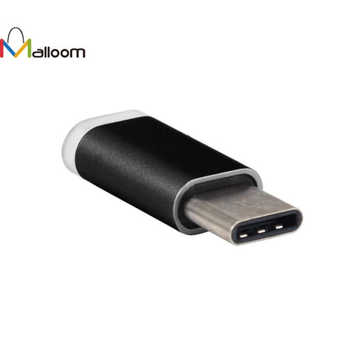 2017 Phone Accessories Free Shipping 1PC USB-C Type-C To Micro USB Data Charging Adapter For Android Phone