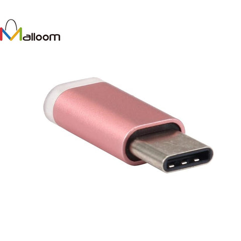 1PC PC Accessories Micro Usb Adapter USB-C Type-C To Micro USB Data Charging Adapter For Android Phone