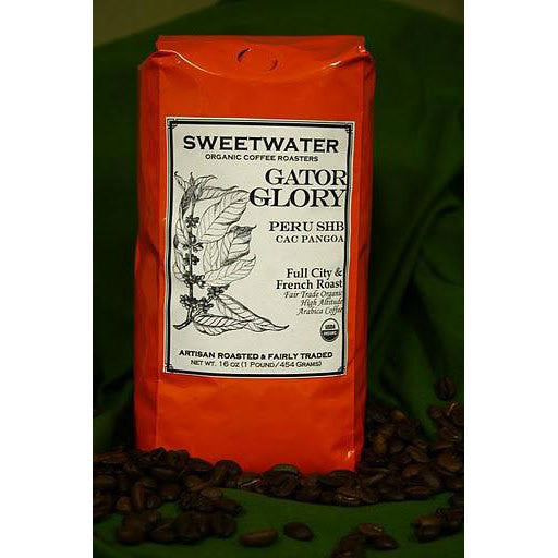 Gator Glory Organic Coffee 12oz Ground - Sweetwater Coffee