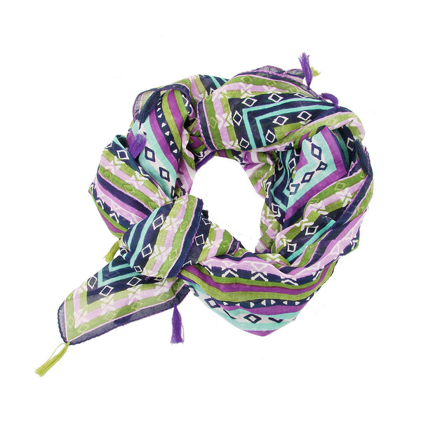 Sedona Scarf - Purple - WorldFinds (S)