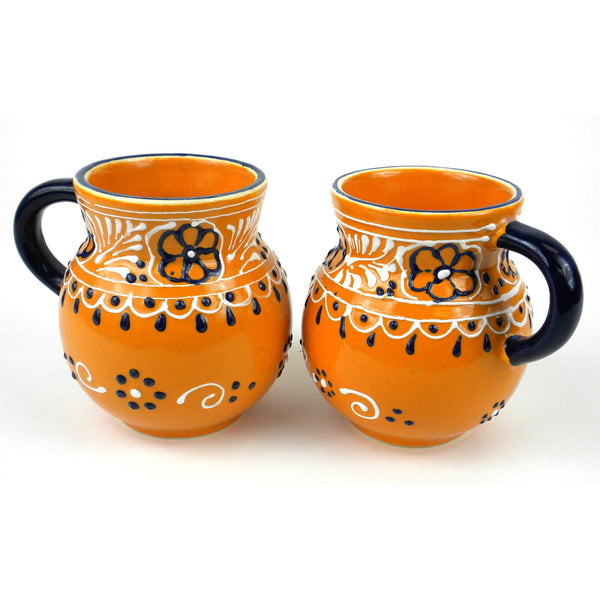 Pair of Beaker Cups - Mango - encantada