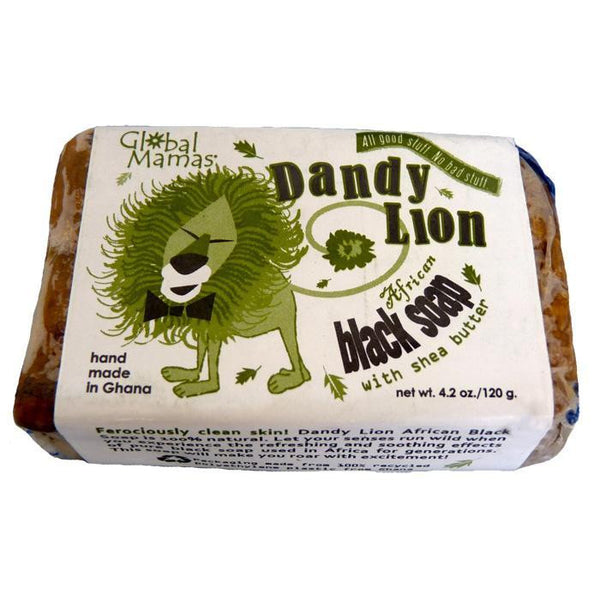 Dandy Lion Black Soap - Shea - Global Mamas (S)