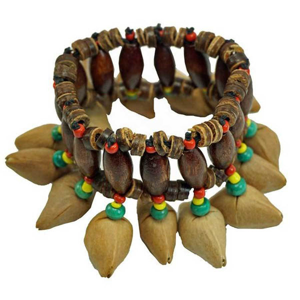 Kenari Nut Shaker Bracelet - Jamtown World Instruments