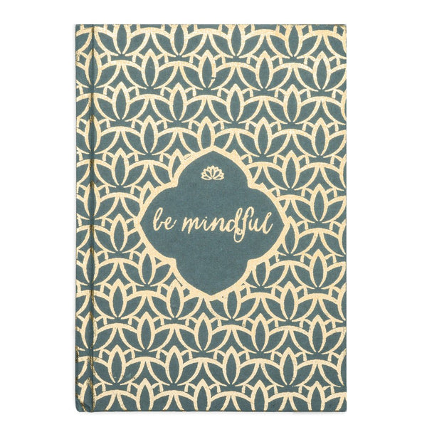 Metallic Message Journal - Be Mindful - Matr Boomie (J)