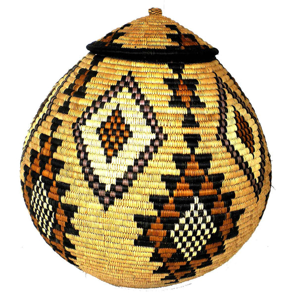 Zulu Wedding Basket - 029 - Ilala Weavers