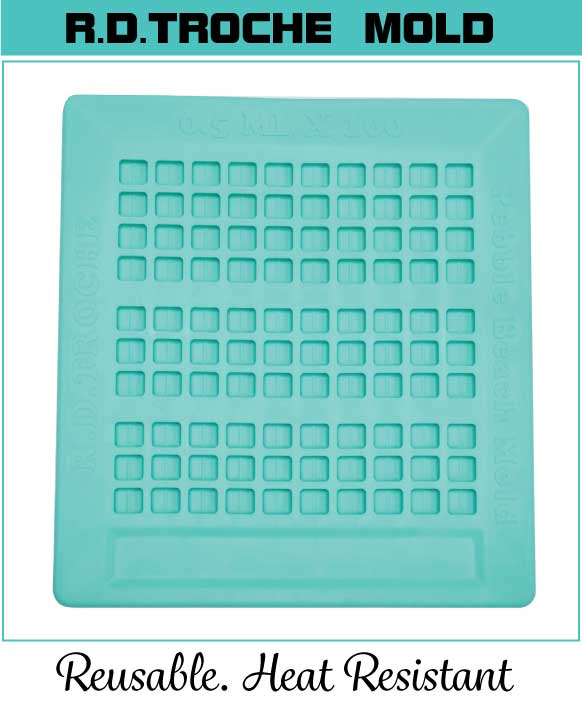 mini Troche Molds, Suppository Molds, and Topical Clicking