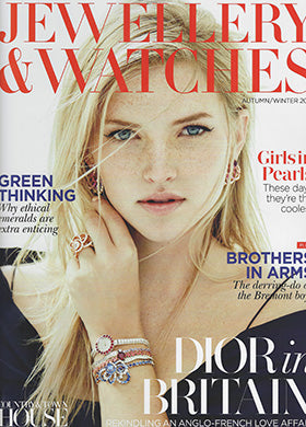Jewellery & Watches Magazine Star Ear Jacket Diane Kordas Jewellery