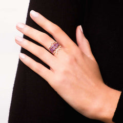 Diane Kordas Diamond BOOM Ring