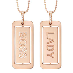 BOSS/LADY PENDANT