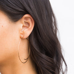Curved Open Hoops