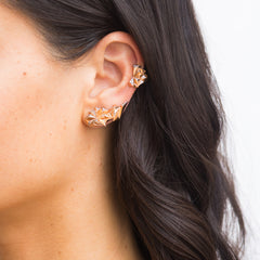 Rose Gold Eclipse Ear Jacket and Cuff