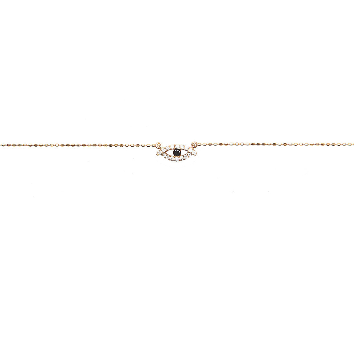 Diane Kordas Jewellery Eye Necklace 18kt gold