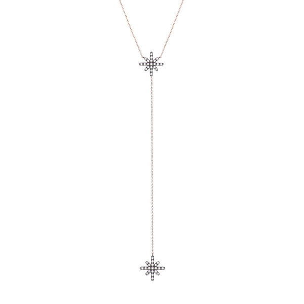 Starburst Lariat Necklace