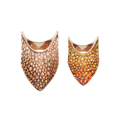 Diane Kordas Ombre Armour Rings