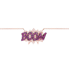 Diane Kordas Jewellery BOOM Necklace 18kt gold