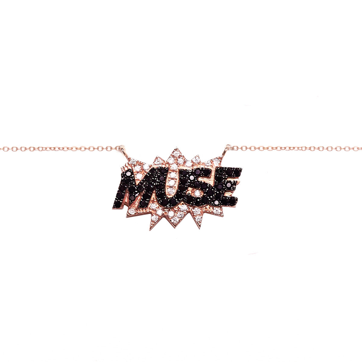 Diane Kordas Jewellery MUSE Necklace 18kt gold