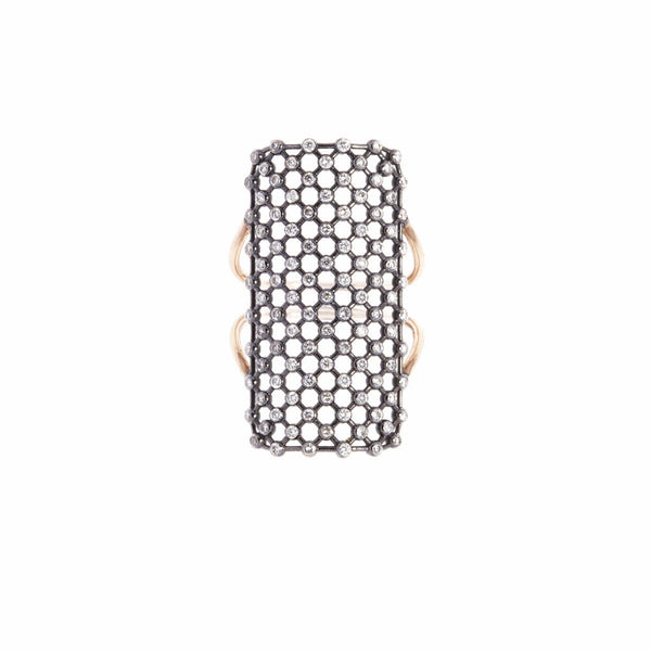 Rectangle Mesh Ring