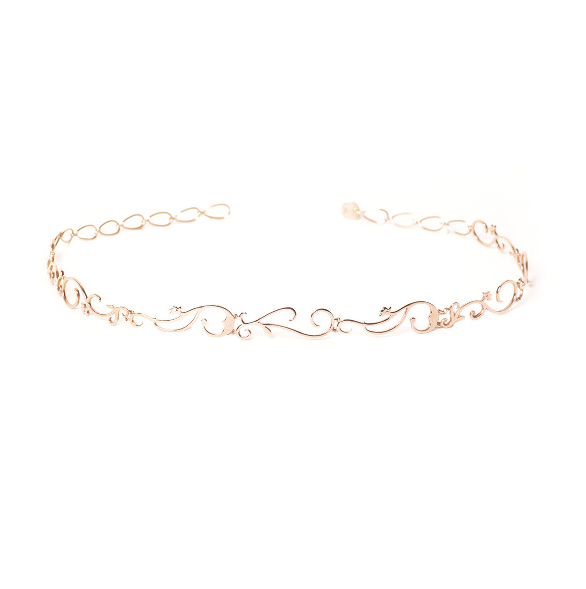 Diane Kordas Jewellery Vine Choker All Gold 18k gold