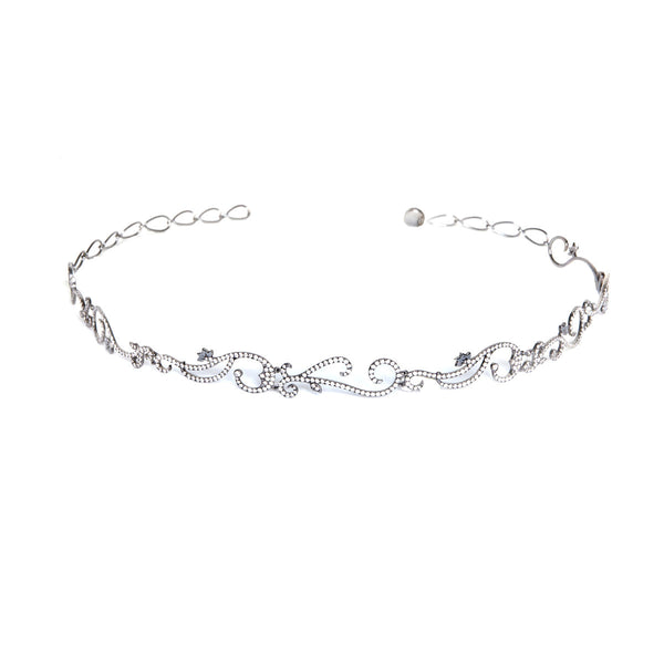 Vine Choker with Diamonds