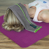 Dual-sided TPE Yoga Mat Set - Pink-Purple