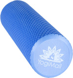 2-in-1 Foam Roller Set - Black/Blue